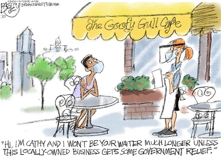 Editorial cartoon (1): July 14, 2020