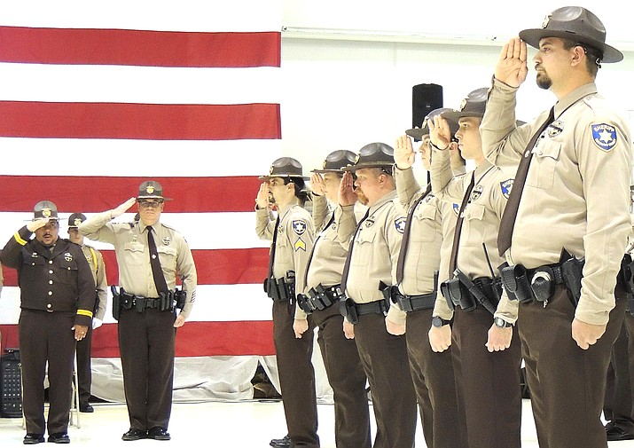 The town of Tusayan and Coconino County Sheriff's Office signed a new contract for $422,880 to provide law enforcement services for Tusayan. (Photo/CCSO)