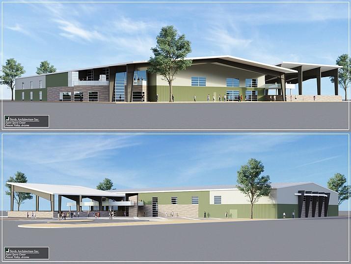 Artist renderings of Espire Sports Center planned for Prescott Valley. (Stroh Architecture, Inc.)