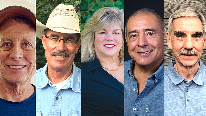 Five residents are in the running for three seats on the Williams City Council. The primary election takes place Aug. 4. Early voting for the Aug. 4, primary election started July 8. (Submitted photos)
