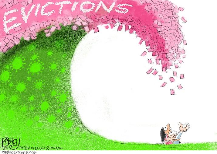 Editorial cartoon (1): July 18, 2020