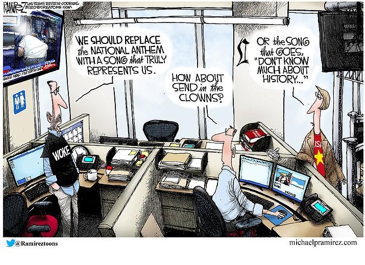 Editorial cartoon (2): July 19, 2020