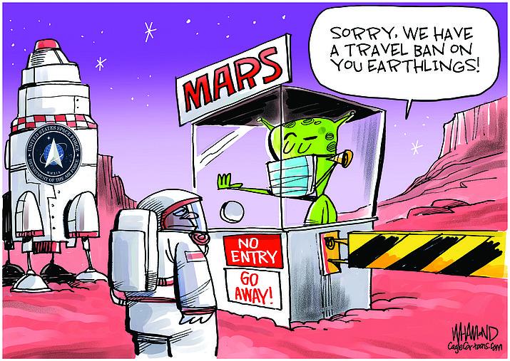 Editorial cartoon (1): July 21, 2020