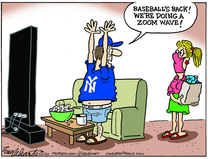 Editorial cartoon (2): July 21, 2020