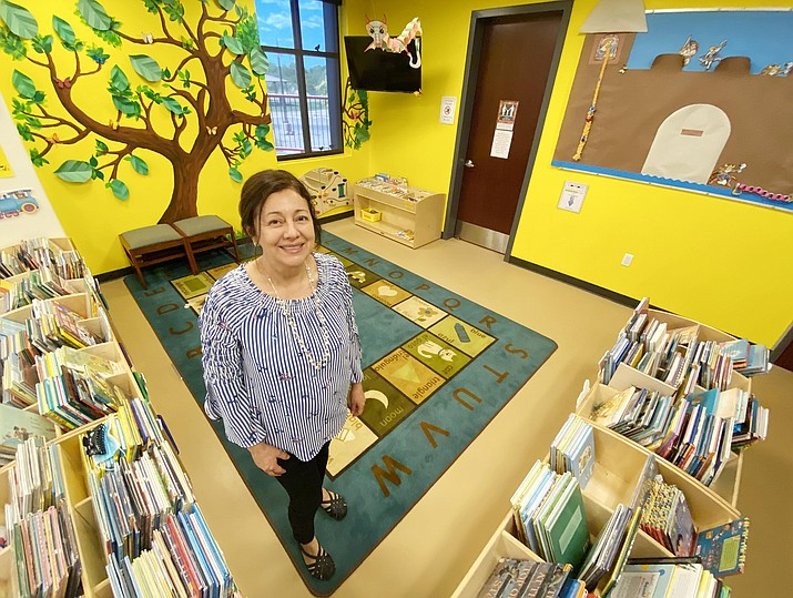 Leticia Ancira – better known as Ms. Letty – is the Camp Verde children's librarian. VVN/Bill Helm