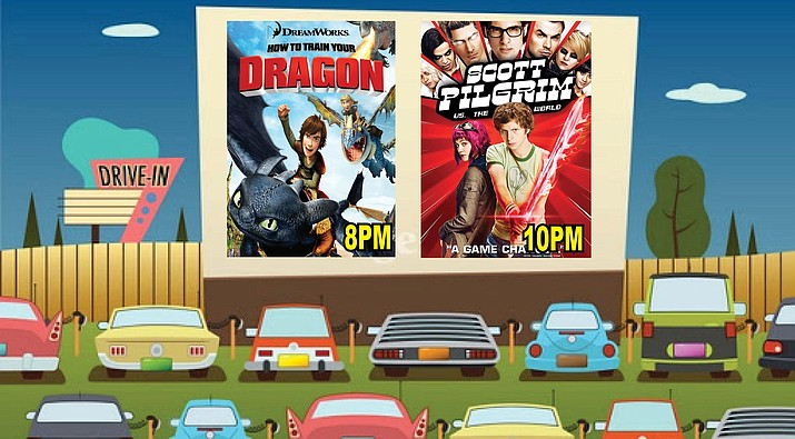 Thursday, Verde Drive-In will show two movies to celebrate the end of this year's summer reading program. Courtesy Verde Drive-In