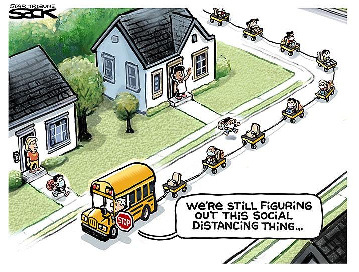 Editorial Cartoon | July 22, 2020