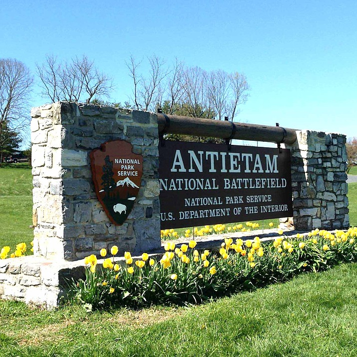 US Park Rangers of Antietam National Battlefield are investigating recent vandalism in the park. (Photo/NPS)