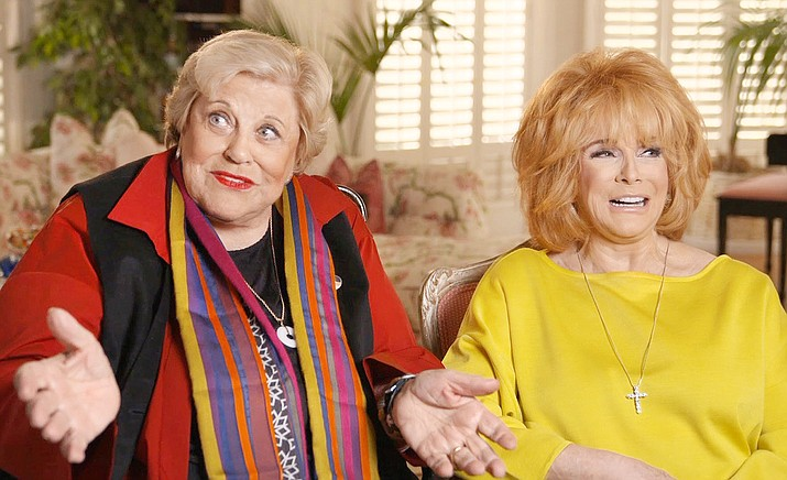 "In ""Kaye Ballard: The Show Goes On,"" delightful moments are captured in rare archival footage and recent interviews with Kaye's longtime pals, including Ann-Margret, pictured at right with Ballard."