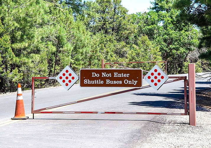 Hikers and visitors are being asked by Grand Canyon National Park not to park at the South Kaibab trailhead. (Photo/Grand Canyon National Park)