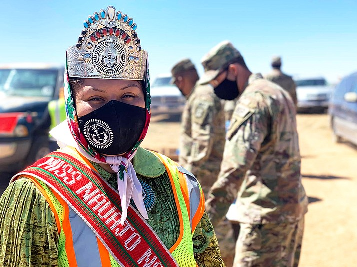 The Navajo Nation continues to implement 57-hour weekend curfews, along with a daily curfew, to help fight the spread of the coronavirus on the reservation. (Photo/Office of the Navajo Nation President and Vice President)