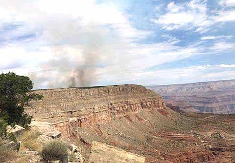 The Thumb Fire has grown to 8,354 acres as of July 22. (Photo/Inciweb)