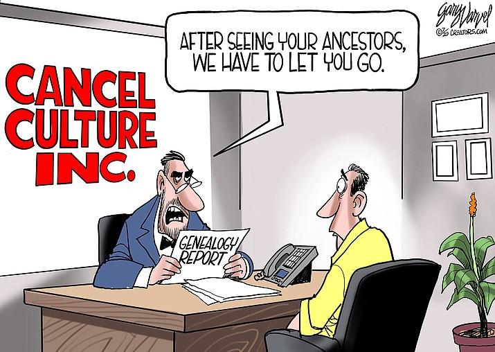 Editorial cartoon (1): July 24, 2020