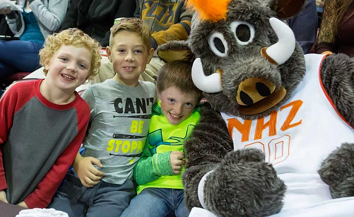 The Northern Arizona Suns very heavily vested in the Prescott Valley community. (Photo courtesy YRMC Health Connect)