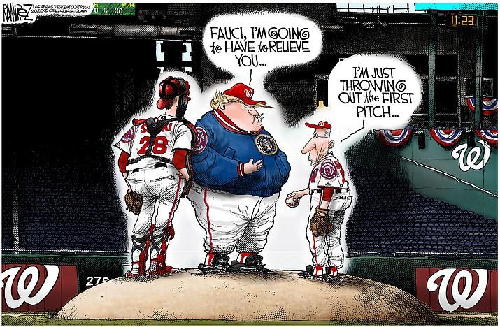 Editorial cartoon (2): July 26, 2020