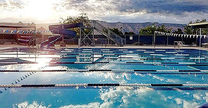 The City of Sedona announced, over the weekend, that its community pool would reopen Monday after two lifeguards who were exposed to a COVID-19-positive person have tested negative for the viral illness. Courtesy City of Sedona