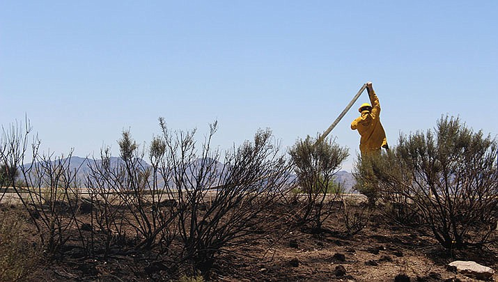 The coronavirus has changed the routine for the men and women fighting Arizona's wildfires this year. (Miner file photo)