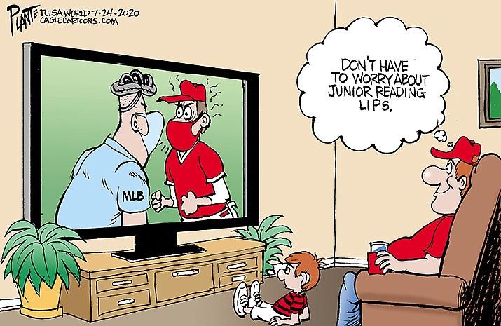 Editorial Cartoon   July 29, 2020