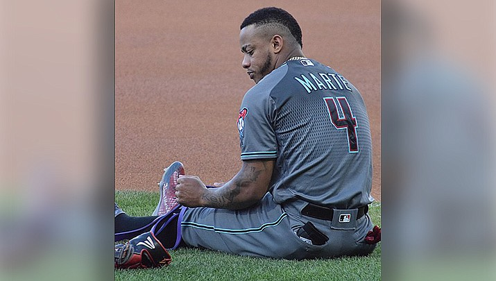 Ketel Marte and the Arizona Diamondbacks lost 6-2 to the San Diego Padres on Monday, July 27 in San Diego. (Photo by Ian D'Andrea, cc-by-sa-2.0, https://bit.ly/30PQLYO)