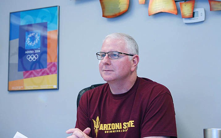 Arizona State swimming and diving coach Bob Bowman feels having his entire team redshirt for the 2020-21 season is the best move for his athletes during the coronavirus era. (Cronkite News file photo)