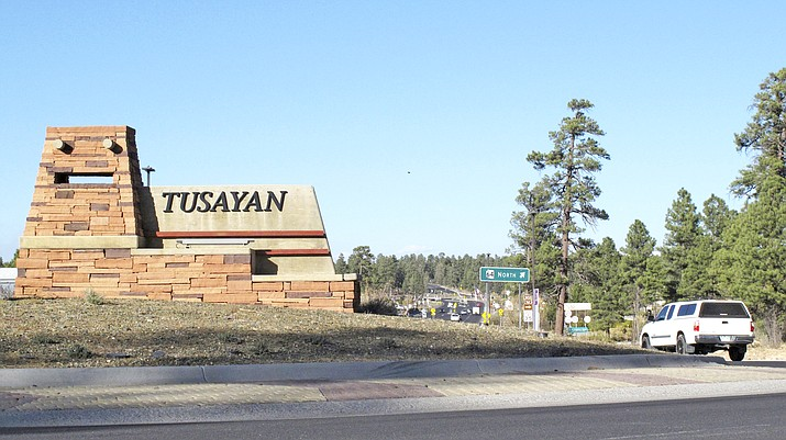 About 240 residents of Tusayan are registered to vote in the primary election that will decide the mayoral race Aug. 4. (AP Photo/Felicia Fonseca, File)