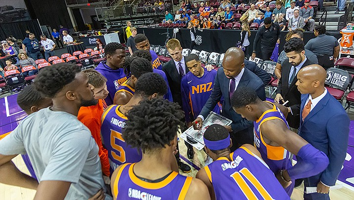 The Northern Arizona Suns NBA G League basketball team has been purchased by the Detroit Pistons and will move from Prescott Valley to Michigan next season. (NAZ Suns courtesy photo)