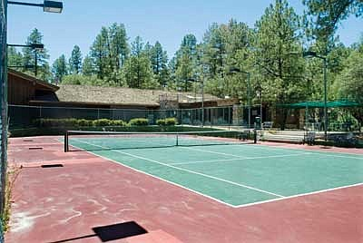 Chris Howard built the Prescott Racquet Club and opened it in 1985. It has since reopened as the Prescott Athletic and Tennis Club under new management. (Courier file photo)