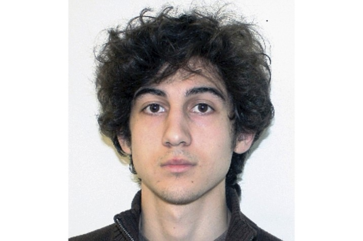 This file photo released April 19, 2013, by the Federal Bureau of Investigation shows Dzhokhar Tsarnaev, convicted and sentenced to death for carrying out the April 15, 2013, Boston Marathon bombing attack that killed three people and injured more than 260. On Friday, July 31, 2020, a federal appeals court overturned the Boston Marathon bomber's death sentence. (FBI via AP, File)