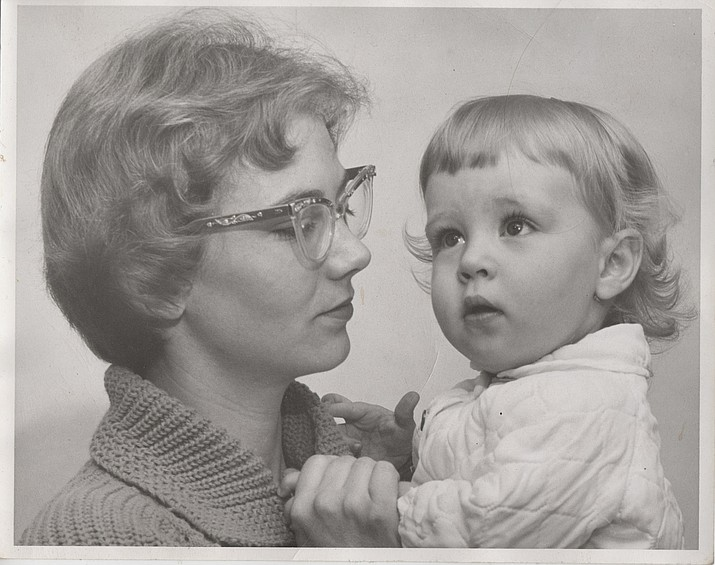Cynthia Gardner holding her daughter, Delia. (Courtesy)