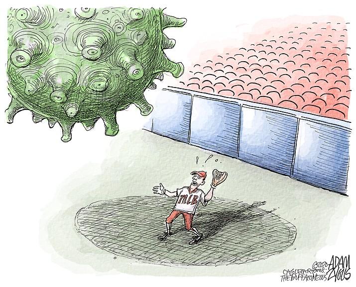 Editorial cartoon (1): Aug. 4, 2020