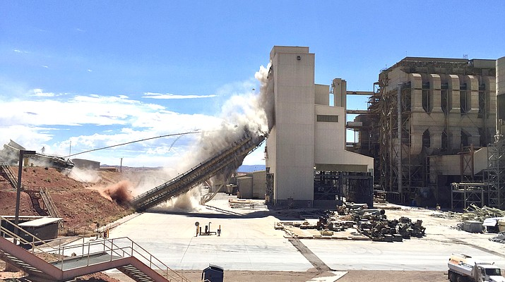 Decommissioning resumes at Navajo Generating Station