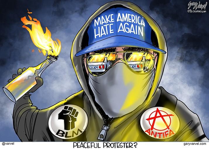Editorial cartoon (2): Aug. 7, 2020