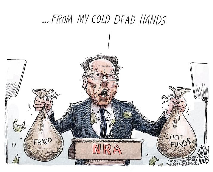 Editorial cartoon (2): Aug. 10, 2020