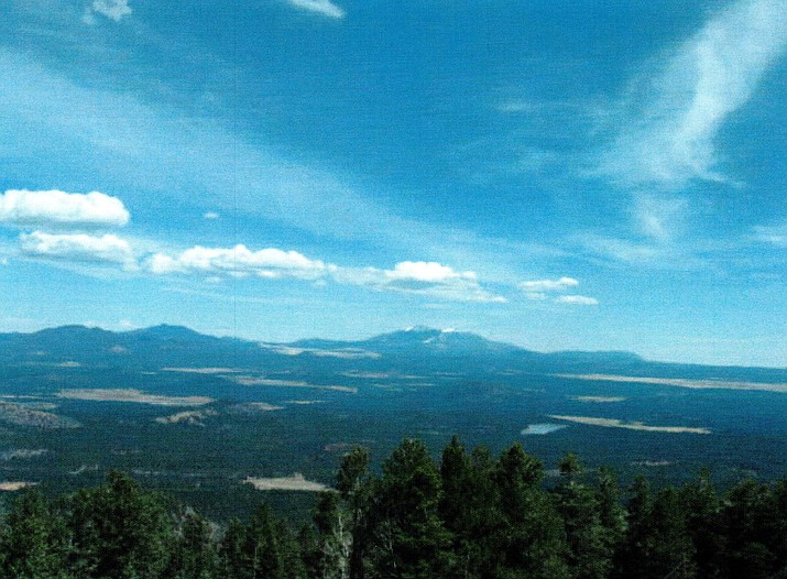 The view from Bill Williams Mountain. (Courtesy)