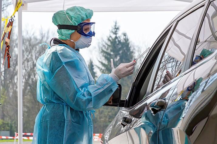 Coronavirus testing (Stock photo)