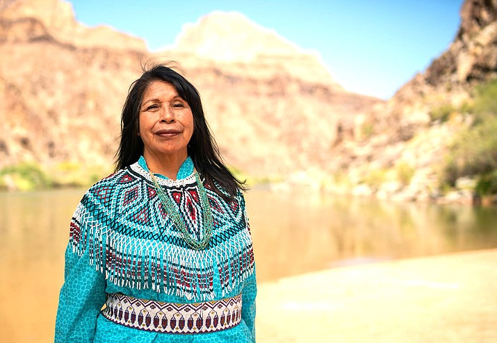 Loretta Jackson-Kelly is a member of the Hualapai Tribe. Jackson-Kelly was taught the Grand Canyon is a sacred place to her people. (Photo by Deidra Peaches, courtesy of Grand Canyon Trust)