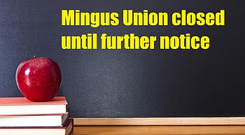 Mingus Union extends campus closure until further notice; online learning will continue photo