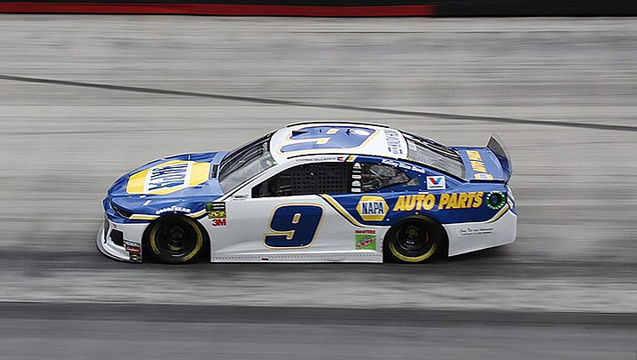 Chase Elliott won the NASCAR cup race on the road course at Daytona International Speedway on Sunday, Aug. 16. (Photo by Zach Catanzareti, cc-by-sa-2.0, https://bit.ly/366CCs2)