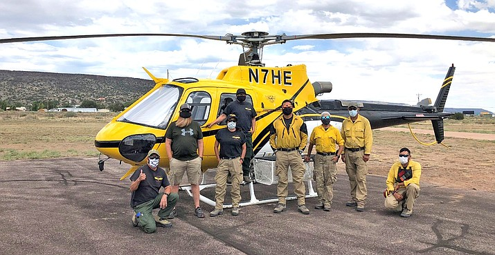 (Photo/BIA Wildland Fire Managament - Navajo Region)