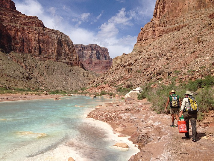 A recently proposed project would allow four large dams to be built near the Little Colorado River that flows into the Grand Canyon. (Lisa Winters/Grand Canyon Trust)