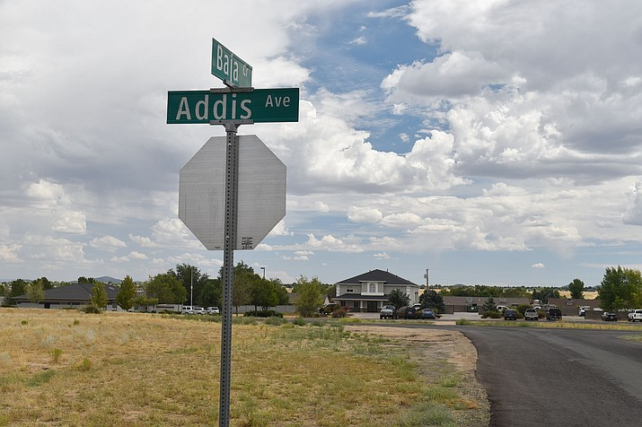 The Prescott Valley Town Council has agreed to rezone 5.4 acres at West Addis Avenue and Baja Circle for a proposed 144-unit apartment complex. (Jesse Bertel/Tribune)