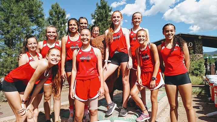 Coach Dave Moncibaez's Mingus Union cross country teams will begin fall workouts Monday. VVN file photo