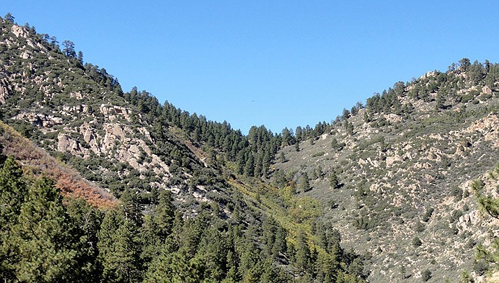 Two individuals whose Polaris rolled near Moss Wash in the Hualapai Mountains on Sunday, Aug. 16 were assisted by Mohave County Sheriff's Office Search and Rescue. (Photo courtesy of MCSO)