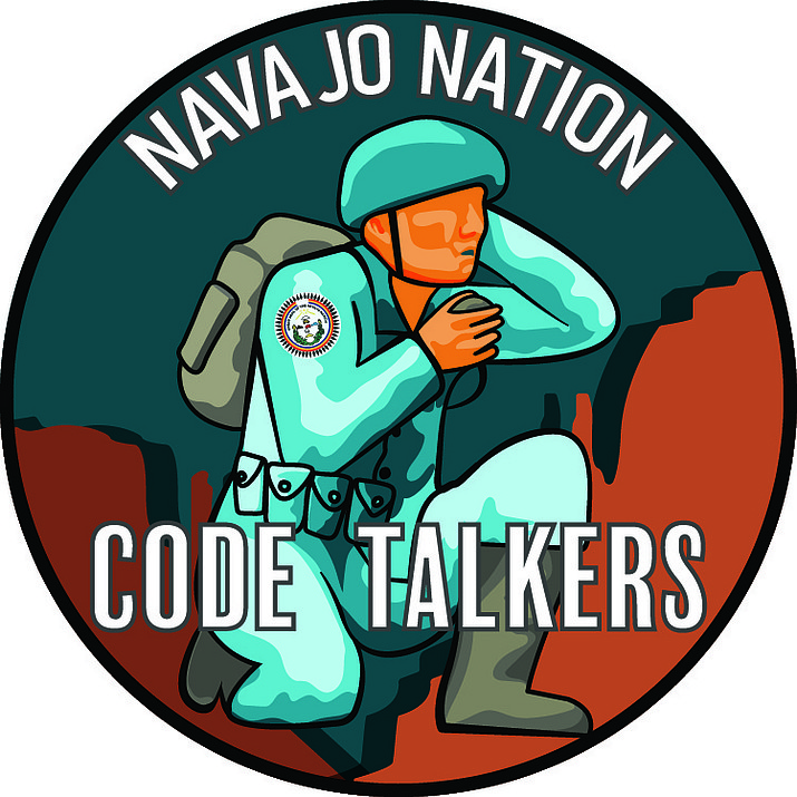 Alyssa Williams' design (far above) won the Code Talker Seal Contest and will be featured on an Arizona speciality license plate.
