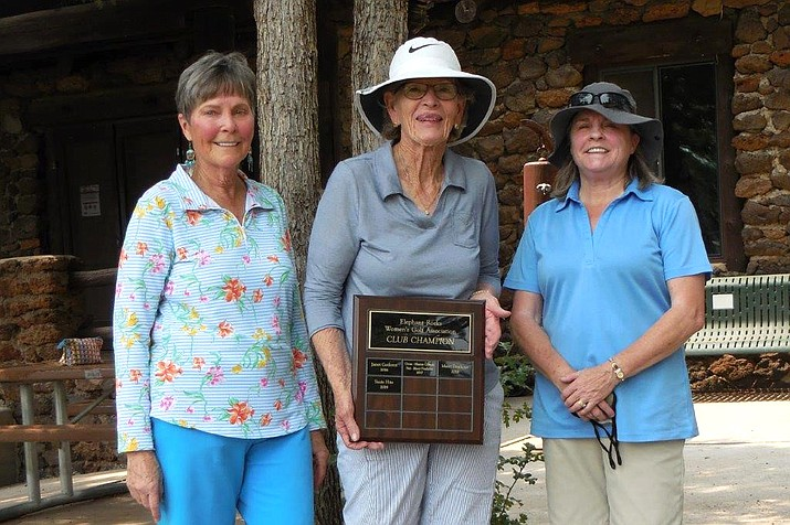 Elephant Rocks ladies' golf club completes annual club championship. (Submitted photo)