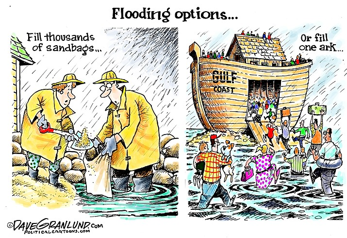 Editorial cartoon (2): August 29, 2020