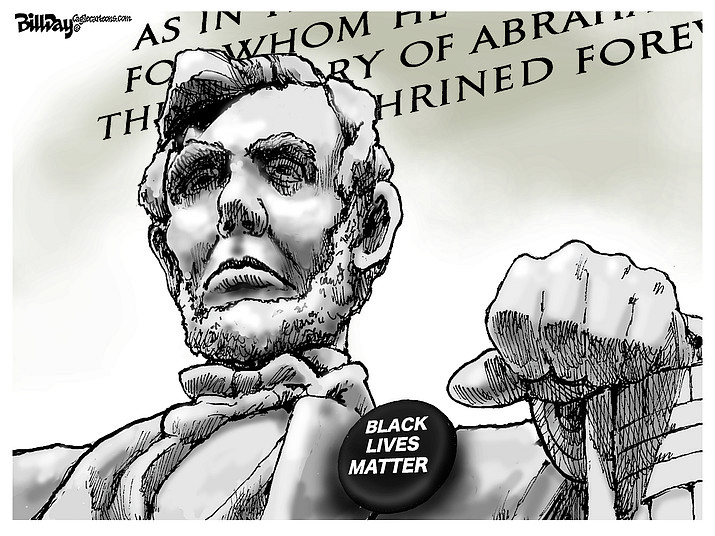 Editorial cartoon (2): Aug. 31, 2020
