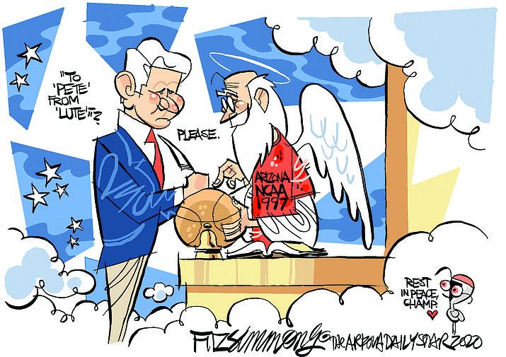 Editorial cartoon (1): Aug. 31, 2020