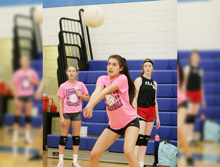 Camp Verde scheduled tryouts Aug. 31 and Sept. 1 for its volleyball teams. Those teams will begin practice on Wednesday, Sept. 2. VVN/Bill Helm