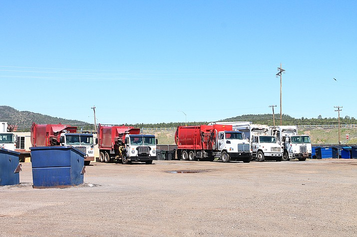 Williams Transfer Station is located at 575 E. Frank Way in Williams. (Loretta McKenney/WGCN)